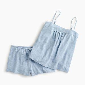 NWT J. Crew Women's Dreamy Shorts Pajama Set
